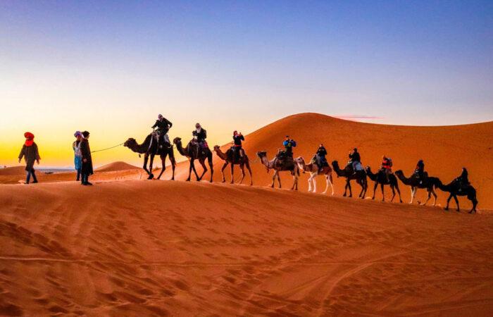 sahara desert travel link morocco