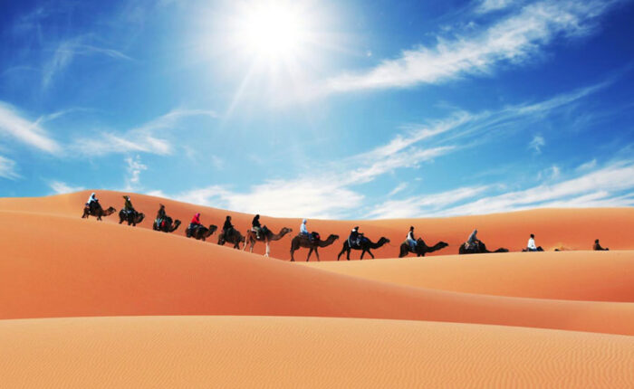 Best month to visit morocco